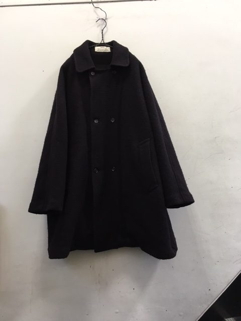 "kaval/Dolman coat double ""wool"""